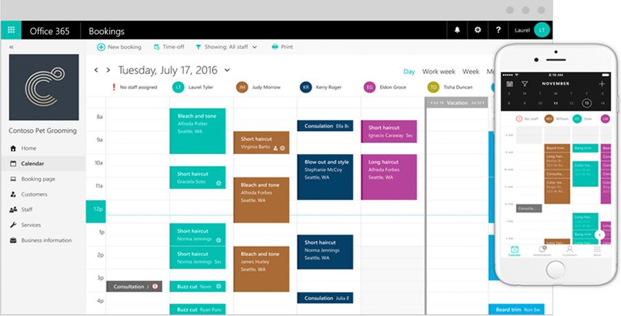 Interlinked Blog | Microsoft Bookings