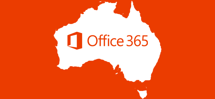 Office 365 now hosted in Australia