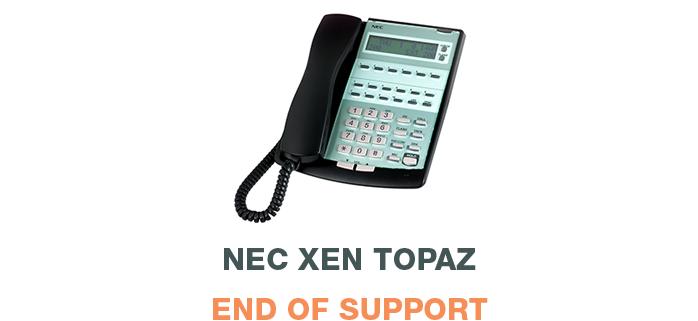 NEC Xen Topza - End of Support